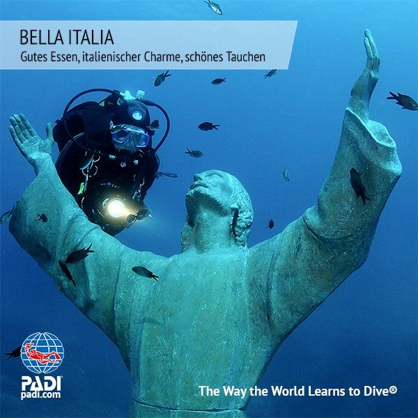 Sunshine Divers St.Gallen - PADI Tauchweekend Rapallo / Ligurien/ Bella Italia