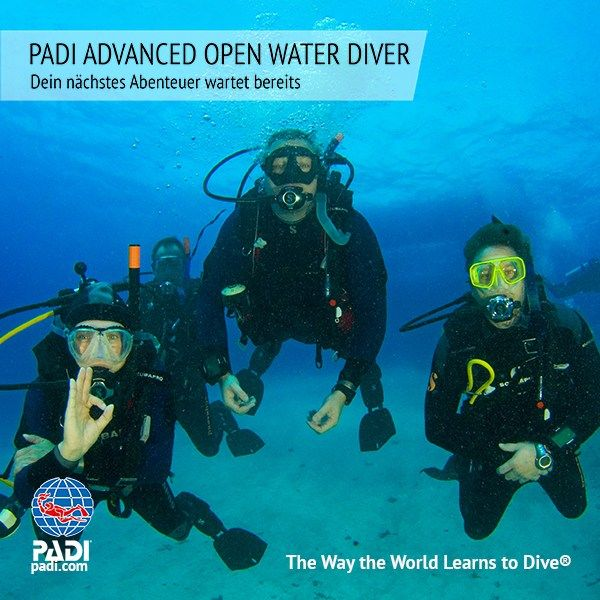 Sunshine Divers St.Gallen - PADI Advanced Open Water Diver Kurs