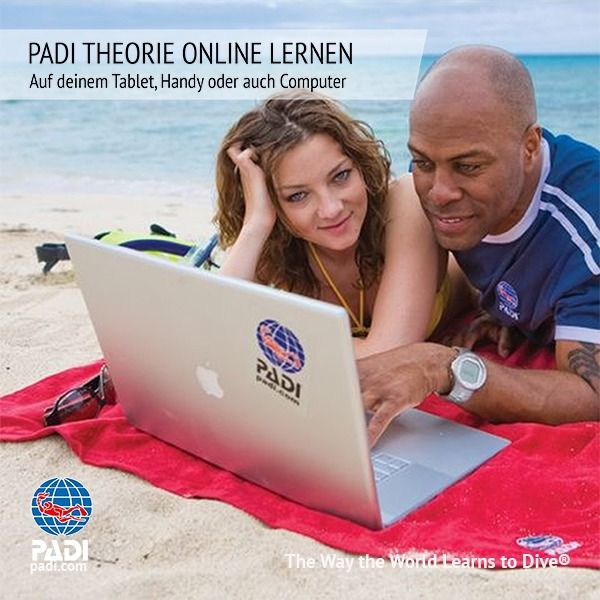 Sunshine Divers St.Gallen - PADI E-Learning Theorie online