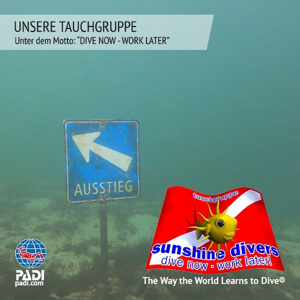 Sunshine Divers - Unsere Tauchgruppe