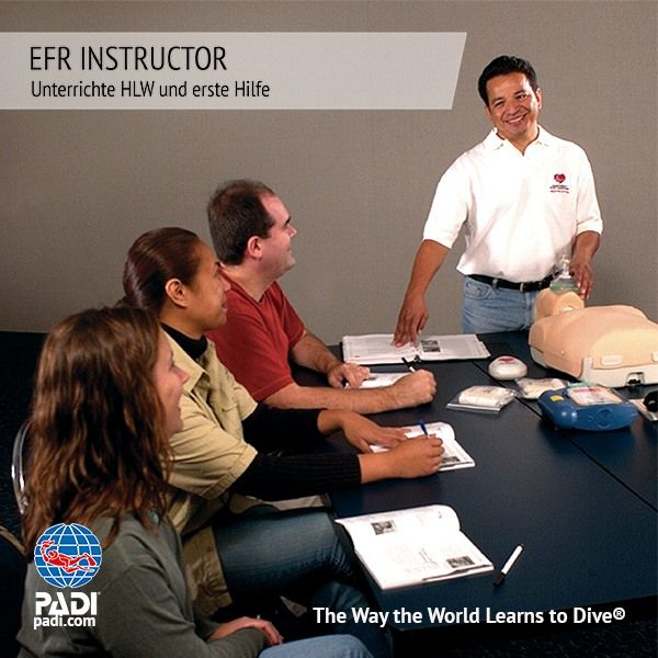 PADI EFR INSTRUCTOR MIT DEN SUNSHINE DIVERS - PADI 5* IDC CENTER IN ST.GALLEN