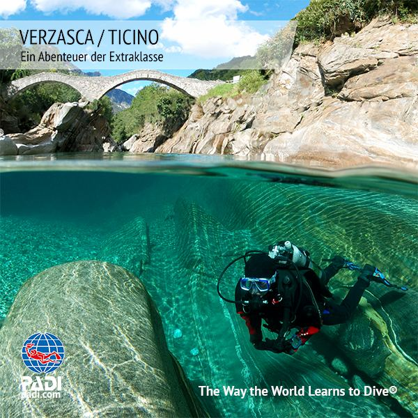 Sunshine Divers - Tauchen in der Verzasca
