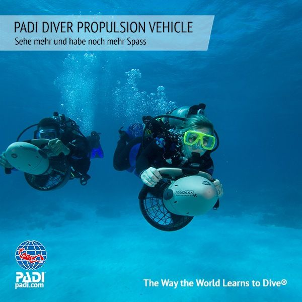 Sunshine Divers PADI UNTERWASSER SCOOTER