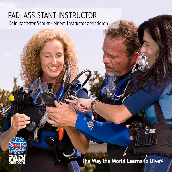 Sunshine Divers St.Gallen - PADI Assistant Instructor Tauchkurs