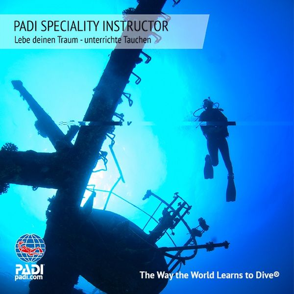 PADI SPECIALTY INSTRUCTOR KURS MIT DEN SUNSHINE DIVERS - PADI 5* IDC CENTER IN ST.GALLEN