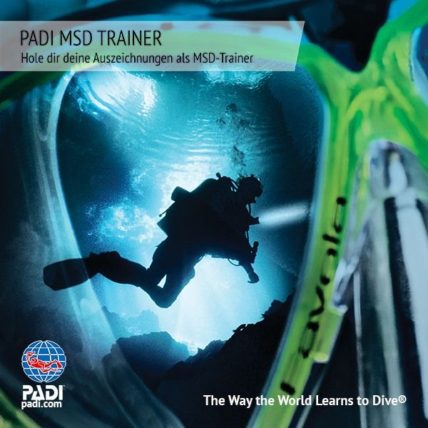 PADI MASTER SCUBA DIVER TRAINER MIT DEN SUNSHINE DIVERS - PADI 5* IDC CENTER IN ST.GALLEN